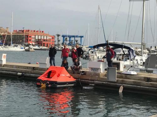 Curso Seguridad y Supervivencia en la Mar de la ISAF